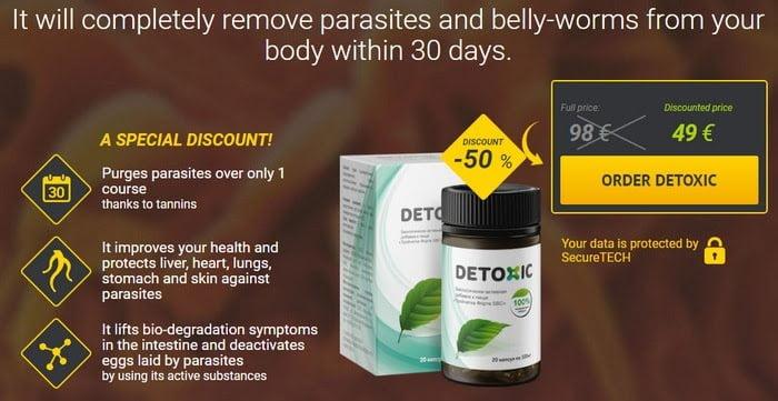Detoxic™ [Dietry Supplement/ Reviews/ 100% Natural..